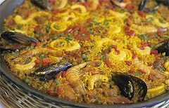 Paella at the beach
